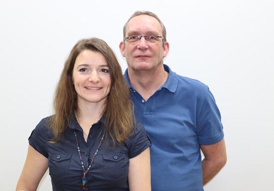 Manuela Fink (Heilpraktikerin) und Andreas Massinger (Heilpraktiker)